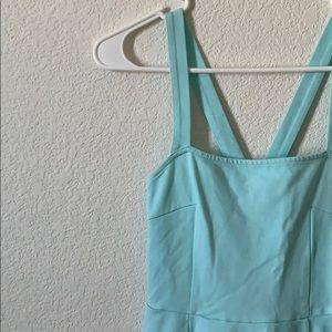 H&M Blue Skater Dress